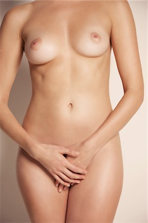 Nude Woman, Headless Stock Photo - Rights-Managed, Code: 822-05948666