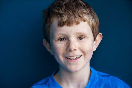 Portrait of Smiling Boy Stock Photo - Rights-Managed, Code: 822-05948814