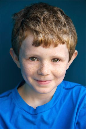 Portrait of Smiling Boy Stock Photo - Rights-Managed, Code: 822-05948871