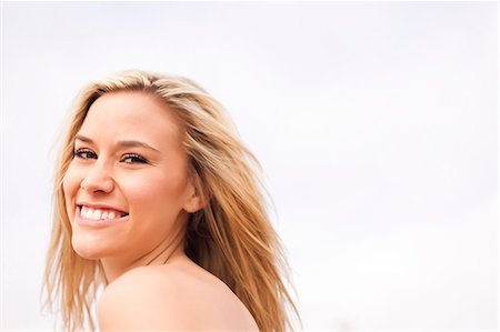 Smiling Woman Stock Photo - Rights-Managed, Code: 822-06302559