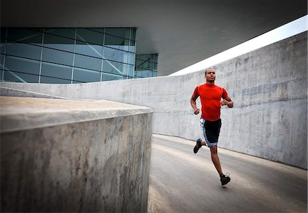 runner (male) - Man Running Outdoors Stock Photo - Rights-Managed, Code: 822-06302592