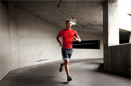 runner (male) - Man Running Outdoors Stock Photo - Rights-Managed, Code: 822-06302661