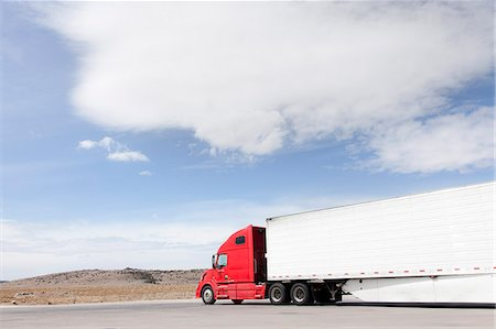 Parked Truck Stock Photo - Rights-Managed, Code: 822-06302751