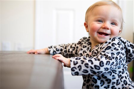 Laughing Baby Girl Stock Photo - Rights-Managed, Code: 822-06702168