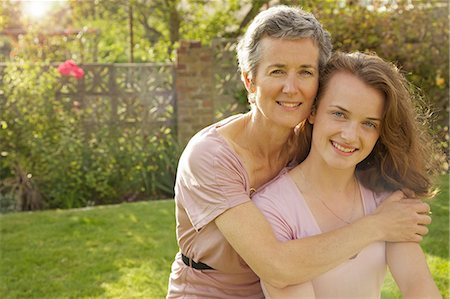 daughter middle-aged mother women young adults - Portrait of Mother and Daughter Stock Photo - Rights-Managed, Code: 822-06702378