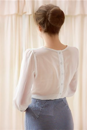 Back View of Woman Stock Photo - Rights-Managed, Code: 822-06702372
