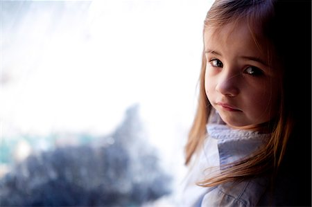 shy baby - Portrait of Young Girl Stock Photo - Rights-Managed, Code: 822-06702436