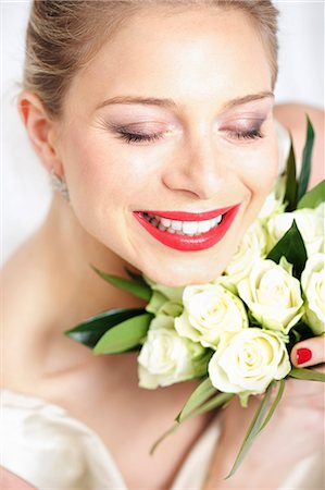 Smiling Bride Stock Photo - Rights-Managed, Code: 822-06702448