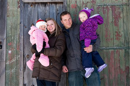 Portrait of Family Stock Photo - Rights-Managed, Code: 822-06702467