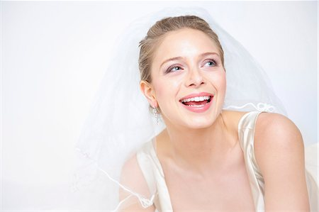 Smiling Bride Stock Photo - Rights-Managed, Code: 822-06702476