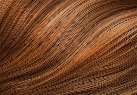 Extreme Close up of Auburn Hair Stock Photo - Rights-Managed, Code: 822-07117463