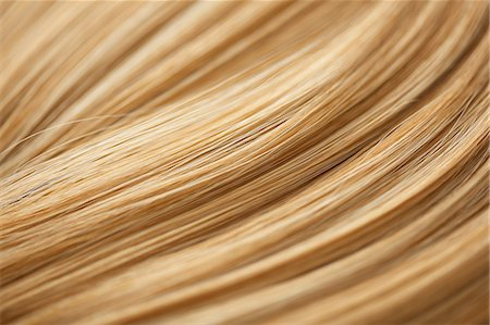 Extreme Close up of Blonde Hair Stock Photo - Rights-Managed, Code: 822-07117565