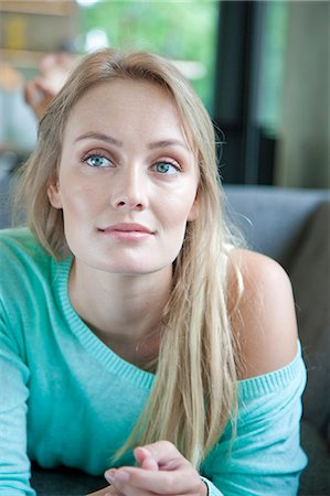 Portrait of Young Woman Stock Photo - Rights-Managed, Code: 822-07562550