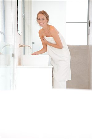 personal care - Woman Washing Hands in the Bathroom Stock Photo - Rights-Managed, Code: 822-07562665