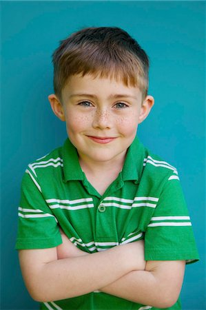 Portrait of Young Boy Stock Photo - Rights-Managed, Code: 822-07708434