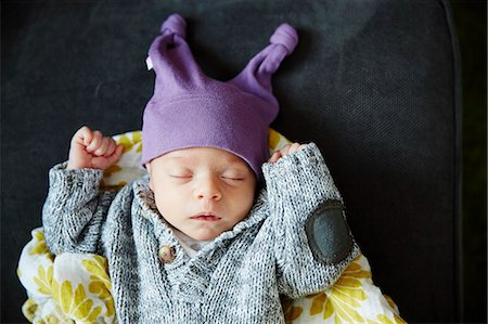 Baby Girl Sleeping Stock Photo - Rights-Managed, Code: 822-08026278