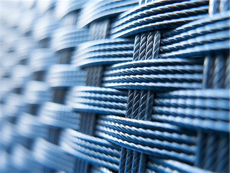 detail - Rattan Interweave, Full Frame Stock Photo - Rights-Managed, Code: 822-08353819