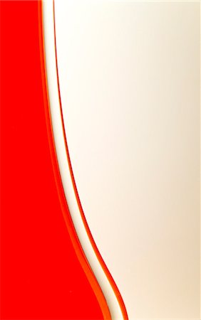 Close up detail of an orange glass vase Stock Photo - Rights-Managed, Code: 822-03406685