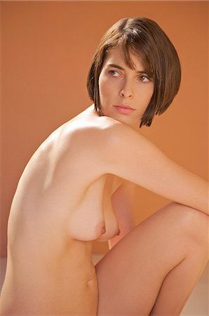 Close up of a nude woman Stock Photo - Rights-Managed, Code: 822-03406826
