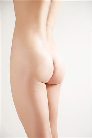 Back view of a nude woman body, headless Stock Photo - Rights-Managed, Code: 822-03485518