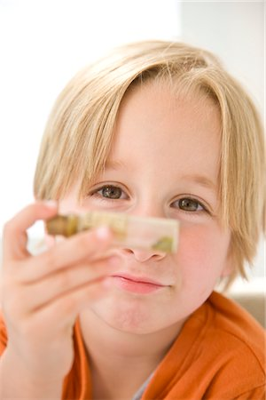 Boy Holding Test Tube Stock Photo - Rights-Managed, Code: 822-03602086
