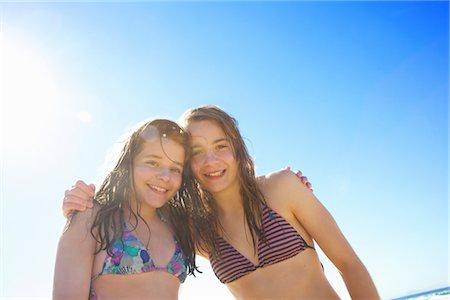 Teenage Girls Hugging Stock Photo - Rights-Managed, Code: 822-03780798