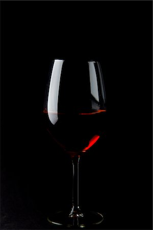 Glass of Rose Wine Stock Photo - Rights-Managed, Code: 822-03780882