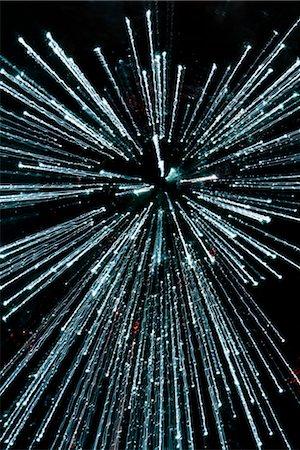 fiber optics nobody - Close-up of fiber optic cables Stock Photo - Rights-Managed, Code: 837-03074080