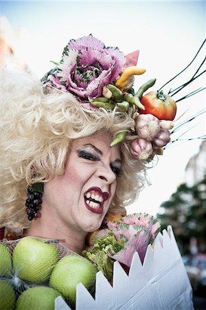 Close-up of a gay man,DuPont Circle,Washington DC,USA Stock Photo - Rights-Managed, Code: 837-03072335