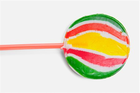 Close-up of a lollipop Stock Photo - Rights-Managed, Code: 837-03187790