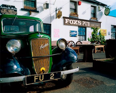 saloon - Fox's Pub, Co Wicklow, Ireland. Stock Photo - Rights-Managed, Code: 832-02254921