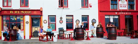 european bar building - Traditional Pub in Baltimore, Co Cork, Ireland Stock Photo - Rights-Managed, Code: 832-02254922