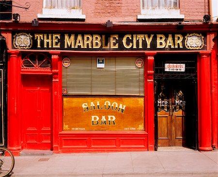 saloon - The Marble City Bar, Kilkenny, Co Kilkenny, Ireland Stock Photo - Rights-Managed, Code: 832-02255247