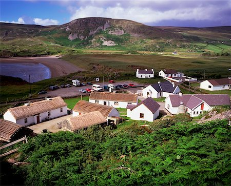 Glencolumbkille, Co. Donegal, Ireland Stock Photo - Rights-Managed, Code: 832-02252724