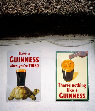 saloon - Traditional Pub Signs, Ballysodare, Co Sligo, Ireland Stock Photo - Rights-Managed, Code: 832-02252846
