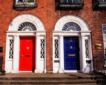 Georgian doors, Dublin, Co Dublin Ireland Stock Photo - Rights-Managed, Code: 832-02252852