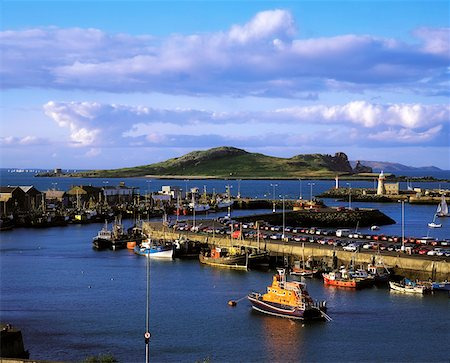 Ireland's Eye, from Howth Harbour Co Dublin, Ireland Stock Photo - Rights-Managed, Code: 832-02253040