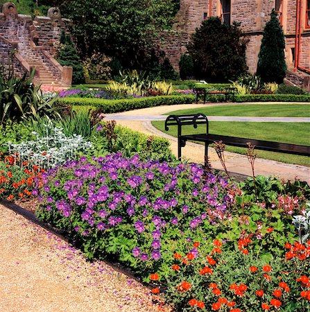 Belfast, Belfast Castle, Gardens Stock Photo - Rights-Managed, Code: 832-02253143