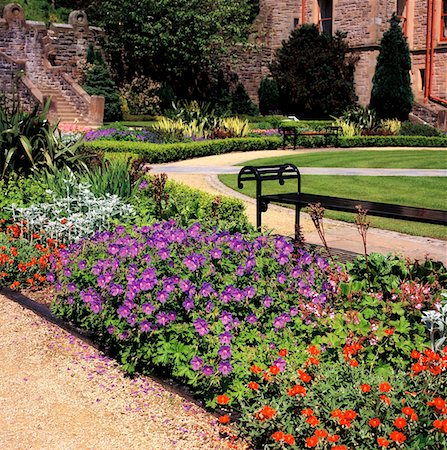 Belfast, Belfast Castle, Gardens Stock Photo - Rights-Managed, Code: 832-02253143