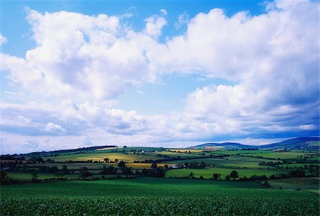 Ireland;  Scenic view of countryside Stock Photo - Rights-Managed, Code: 832-03232424