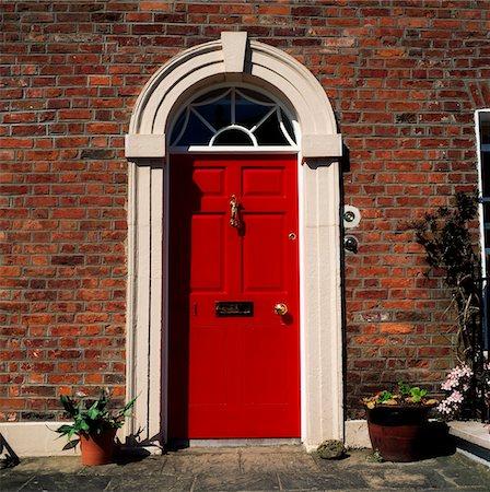 Georgian Door, Hillsborough, Co Down Stock Photo - Rights-Managed, Code: 832-03232748