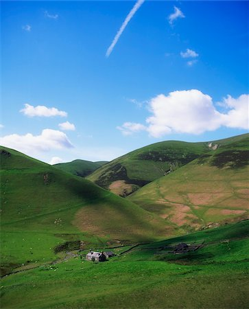 Southern Highlands, Near Moffat, Dumfries, Scotland Stock Photo - Rights-Managed, Code: 832-03232787