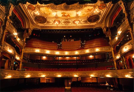 Grand Opera House, Belfast, Ireland;  19th Century opera house Stock Photo - Rights-Managed, Code: 832-03233576