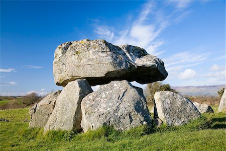 prehistoric - Carrowmore, Co Sligo, Ireland;  Megalithic tomb at a prehistoric ritual landscape Stock Photo - Rights-Managed, Code: 832-03233694