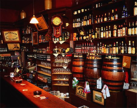 saloon - Morrissey's, Abbeyleix, Co Laois, Ireland;  Interior of an Irish pub Stock Photo - Rights-Managed, Code: 832-03358809