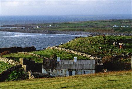 Doolin Village, Co Clare, Ireland; Coastal Village On The Atlantic Coast Stock Photo - Rights-Managed, Code: 832-03640233