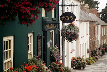 european hillside town - Co Down, Hillsborough Stock Photo - Rights-Managed, Code: 832-03640631