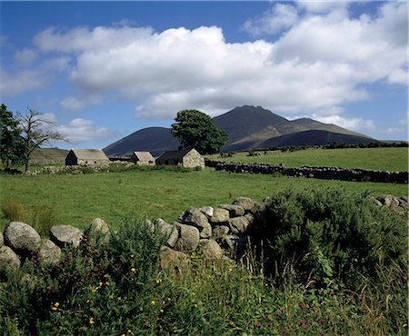 Mourne Mountains, County Down, Ireland Stock Photo - Rights-Managed, Code: 832-03640812