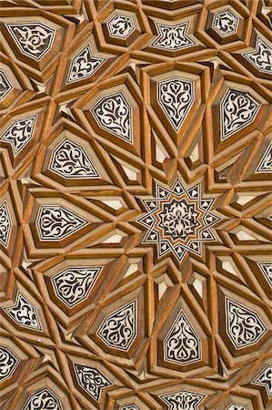 decoration pattern - Detail of decorated door in Rifai Mosque Stock Photo - Rights-Managed, Code: 832-03724636
