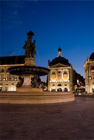 Place de la Bourse Stock Photo - Rights-Managed, Code: 832-03724995